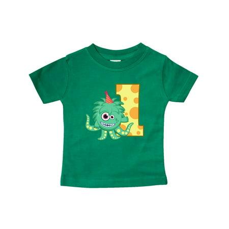 Monster 1st Birthday Baby T-Shirt - Baby Monster Inc