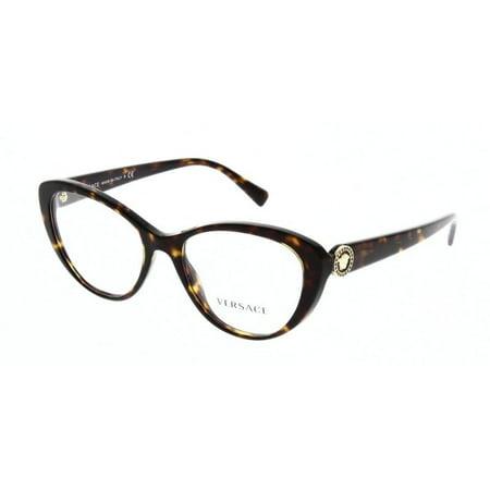 "Authentic Versace Eyeglasses VE3246BA 108 Havana Frames 54mm Rx-ABLE"""
