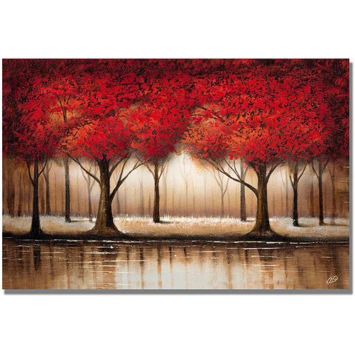 """Rio """"Parade of Red Trees"""" by Trademark Global LLC"""