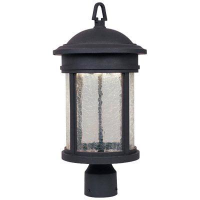 Designers Fountain Outdoor Prado LED32211 Post Lantern - Oil Rubbed Bronze