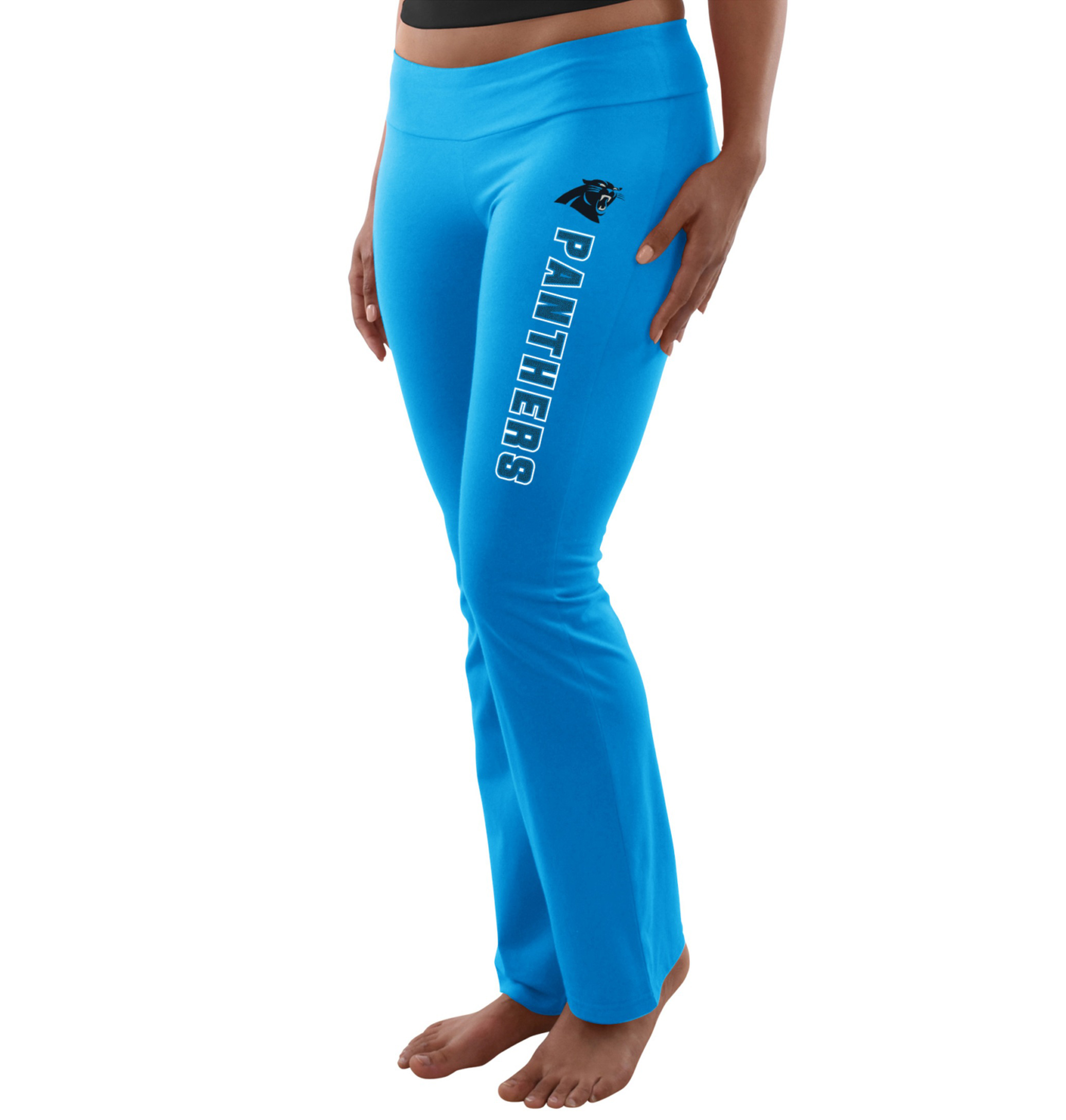 NFL Carolina Panthers Attitude Overload Women's Yoga Pant by