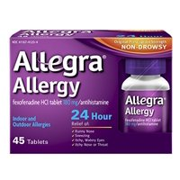 Allegra 24 Hour 45ct Tablet