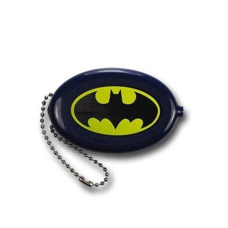 DC Comics Batman Navy Blue Coin Purse - Keychain Coin Purse