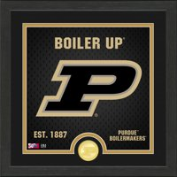 Purdue Boilermakers Highland Mint 13'' x 13'' Battle Cry Photo Mint - No Size