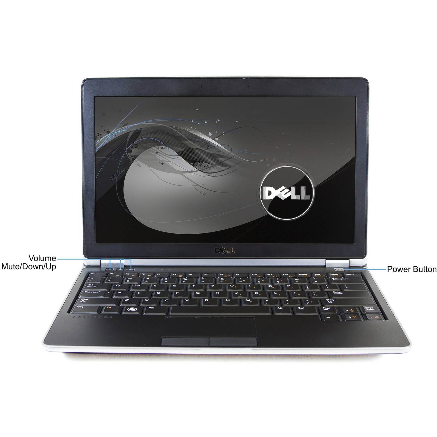 "Refurbished Dell Silver 12.5"" E6220 Laptop PC with Intel Core i5 Processor, 4GB Memory, 128GB Solid State Drive and Windows 7 Professional"