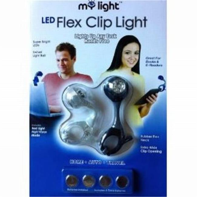 WMU My Light LED Flex Clip Book Light 2PK