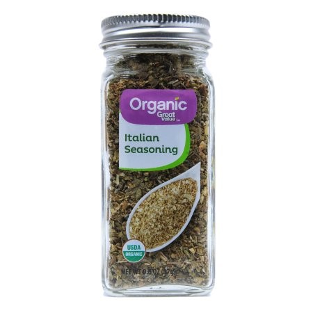 (11 Pack) Great Value Organic Italian Seasoning, 0.6 Oz