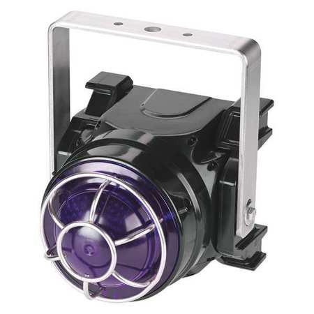 Beacon Warning Light,Magenta,LED,0.30A FEDERAL SIGNAL G-LED-DC-T-M
