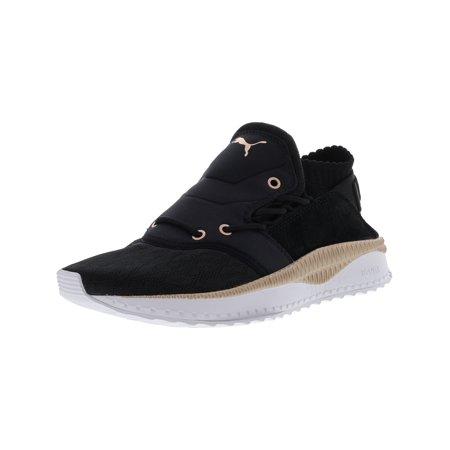Puma Women's Tsugi Shinsei Metallic Black Rose Gold White Ankle High Mesh Training Shoes 8.5M