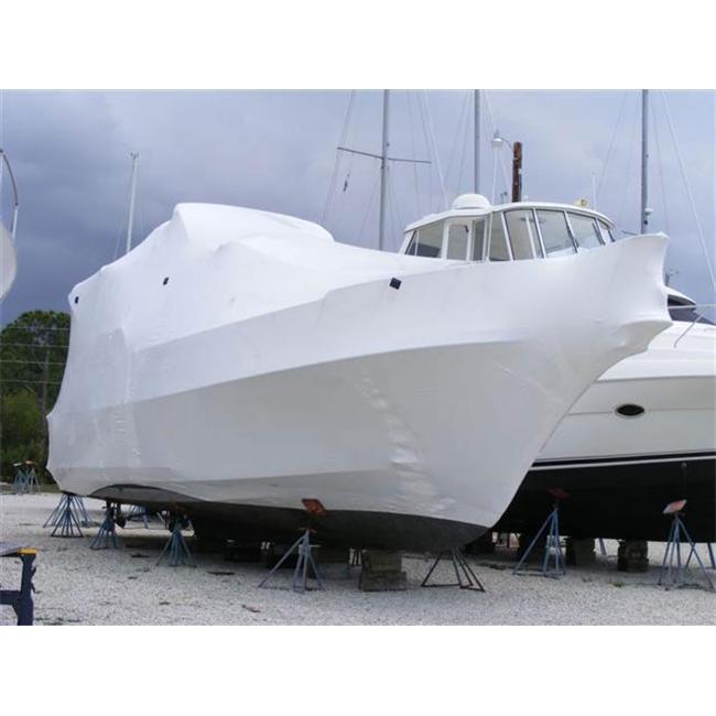 DS-227100W White 22 ft x 100 ft 7 Mil Shrink Wrap