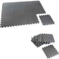 Walmart.com deals on CAP Barbell Puzzle Exercise Mat, 12 Piece MT-1112AZ