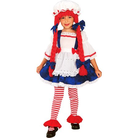 Rag Doll Girl Toddler Halloween Costume (Russian Doll Halloween Costume)
