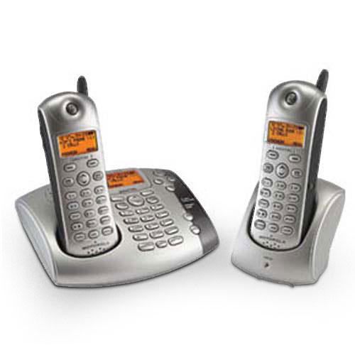 Motorola MD481 2.4 GHz Digital Expandable Cordless Phone ...