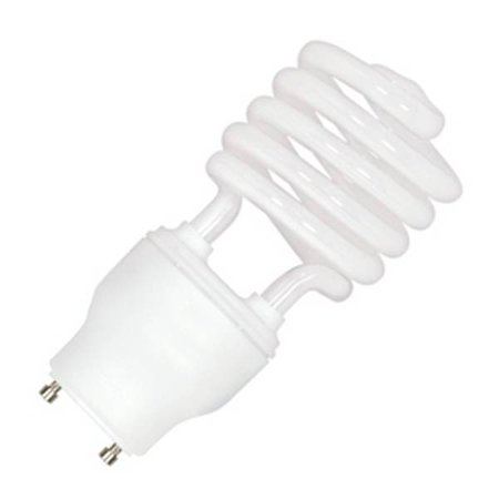 Satco 08206 - 23GU24/27 S8206 Twist Style Twist and Lock Base Compact Fluorescent Light Bulb