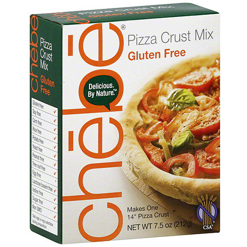 Chebe Gluten Free Pizza Crust Mix, 7.5 oz (Pack of 8)