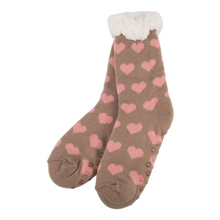 281bf2c239870 topcobe - Women's Fleece Lining Fuzzy Soft Christmas Socks, Pink Knee Highs  Stockings Slipper Socks - Walmart.com