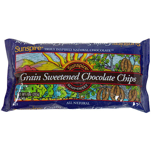 Sunspire Grain Sweetened Chocolate Chips, 10 oz (Pack of 12)