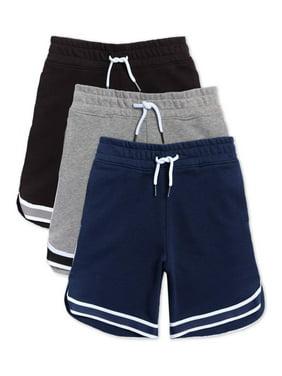 365 Kids From Garanimals Boys Knit Shorts, 3-Pack, Sizes 5-8