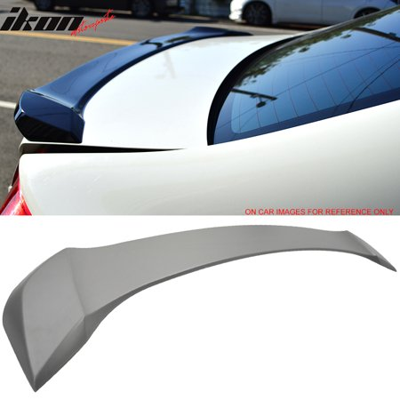 Honda Civic Hybrid Trunk - Fits 12-15 Honda Civic 9th Gen Sedan OE Factory Unpainted ABS Trunk Spoiler