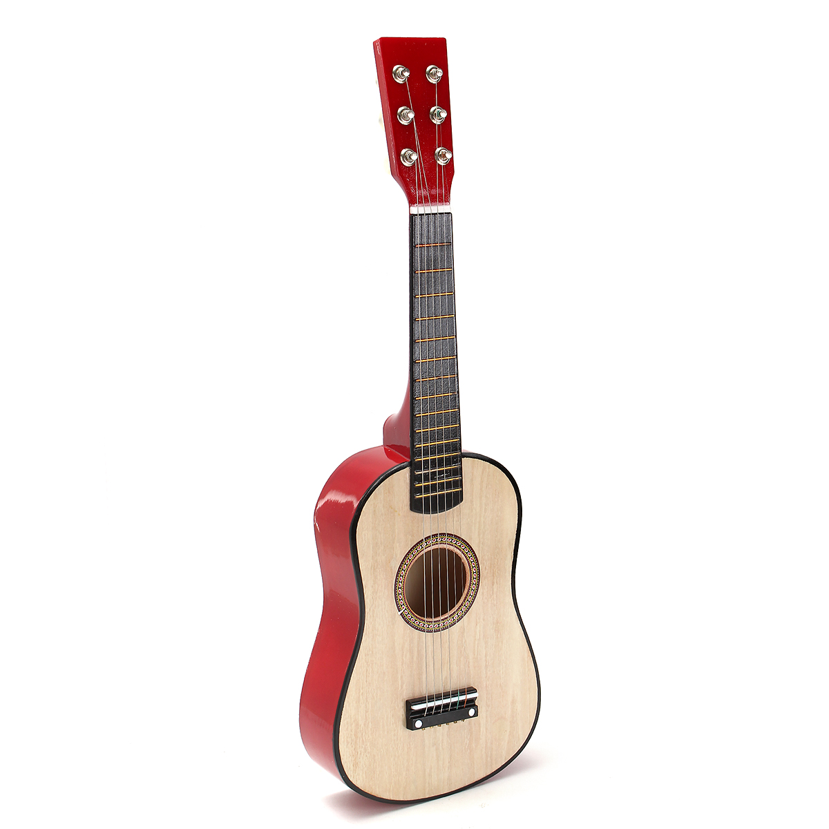 Children Wooden 6 Strings Guitar Musical Instrument Toys for Beginner Purple DOSGO Guitar Kids For 3 4 5 6 Year Old