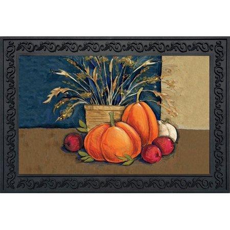 Pumpkin Fruit (Fall Abundance Doormat Pumpkins Fruit Indoor Outdoor Pumpkins 18