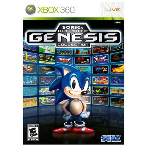 Sonic Ultimate Genesis Collection  (Xbox 360) - Pre-Owned