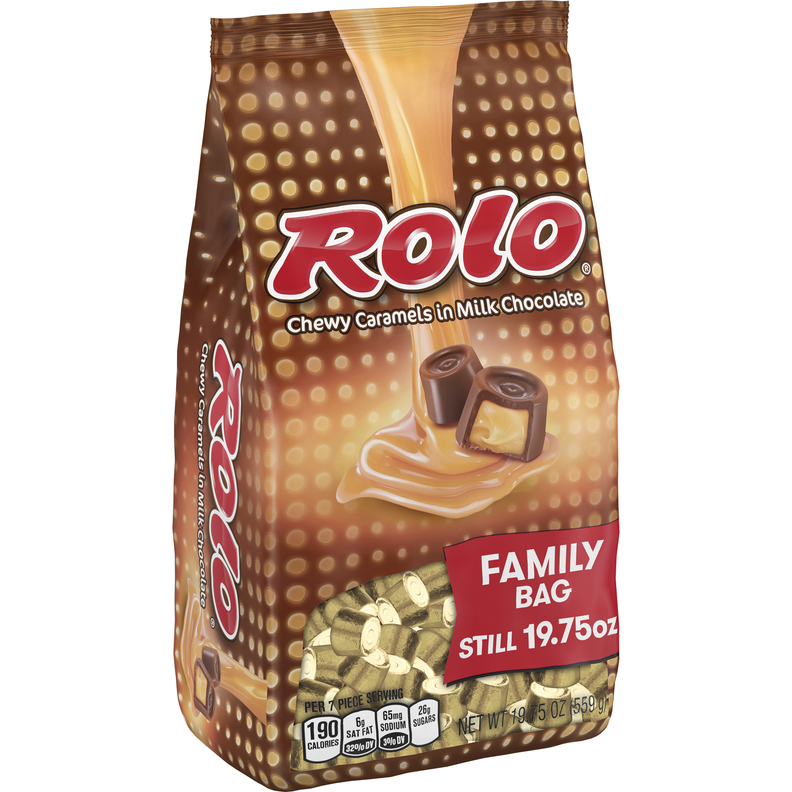 ROLO Chewy Caramels in Milk Chocolate, 19.75 oz by Hershey's