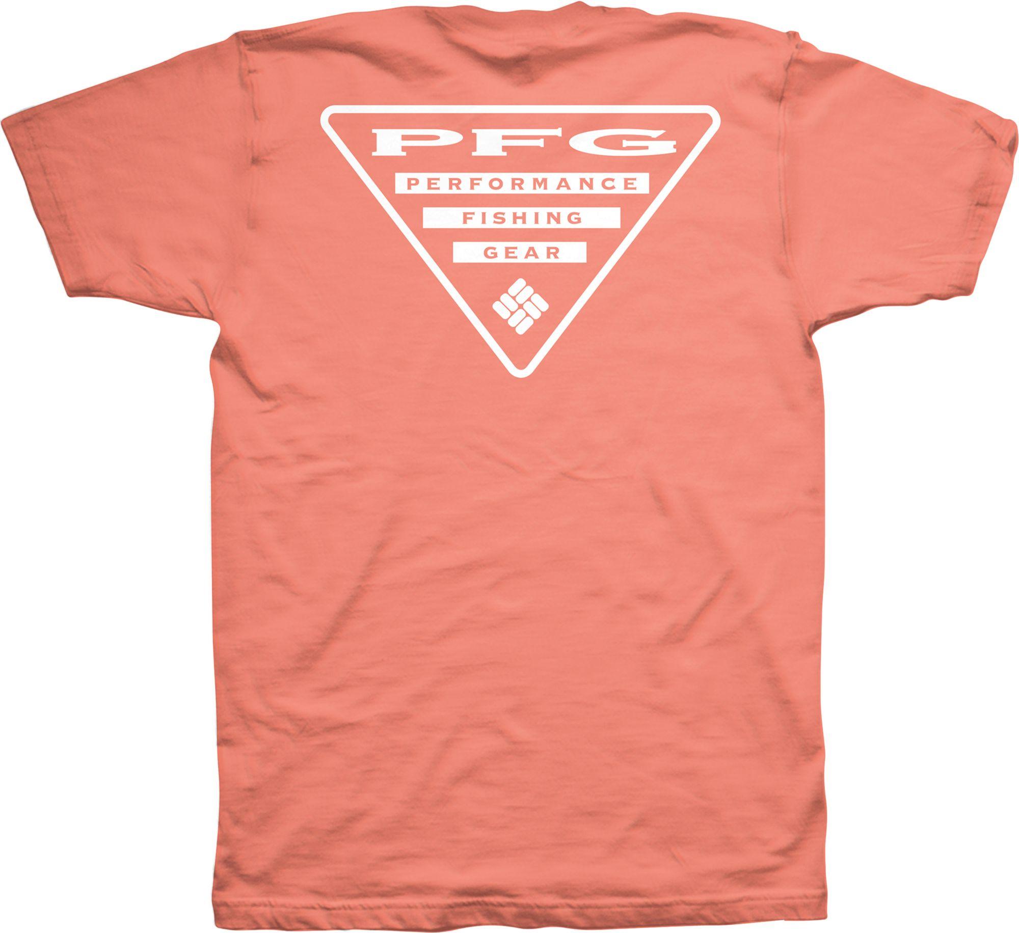 Columbia New PFG Fishing Triangle Short Sleeve Graphic T-Shirt Men/'s Medium