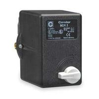 CONDOR USA, INC 31QE3EXX Pressure Switch,3PST,120/150psi,Standard