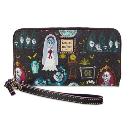 Disney Dooney & Bourke Haunted Mansion Wicked Cast Of Characters Wallet New