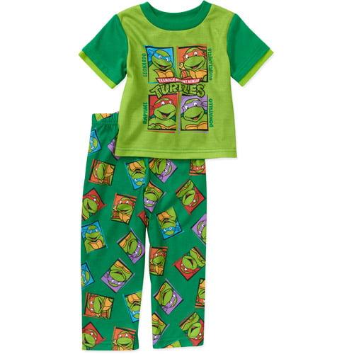 Baby Boys' Teenage Mutant Ninja Turtles 2 Piece Pajama Set