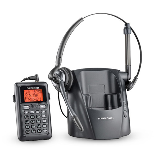 Plantronics CT14 DECT 6.0 Cordless Telephone Headset Phone / Remote Keypad