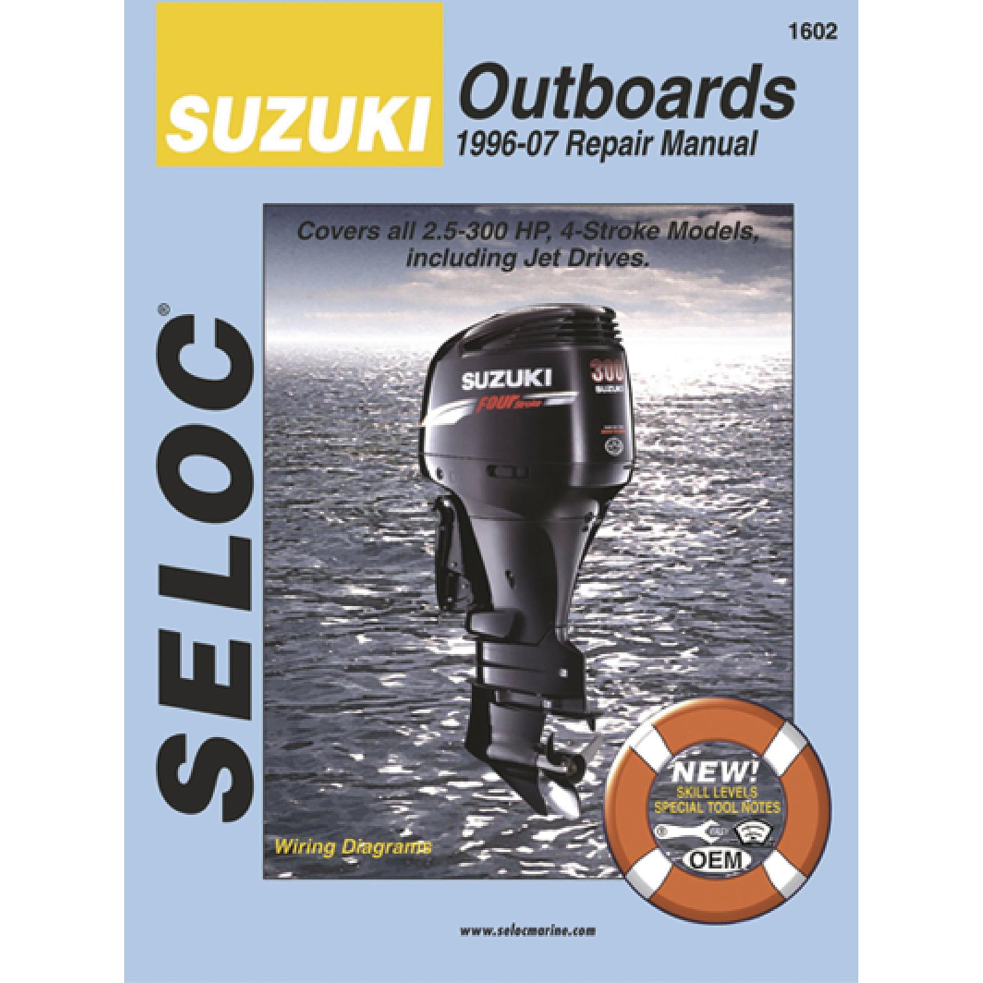 Seloc Marine Manual for Suzuki Outboards
