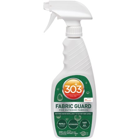 303 Fabric Guard, Water Repellent, Safe for all Patio Furniture Fabrics, 16 fl oz