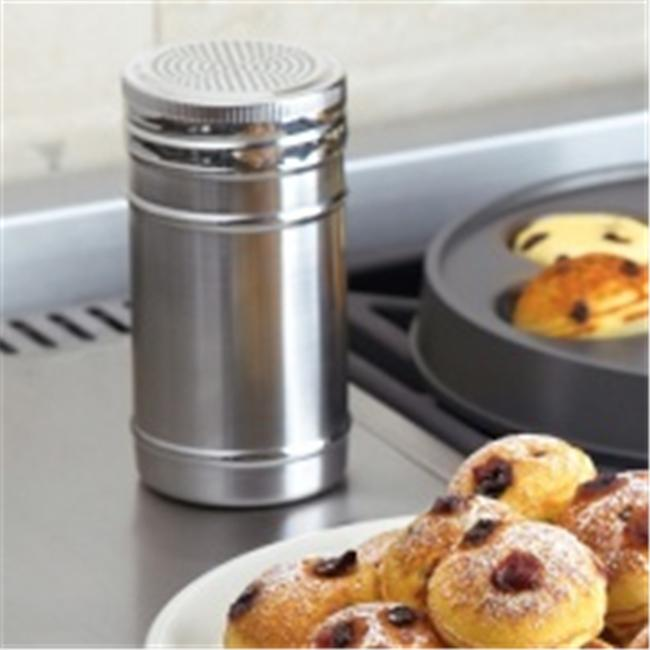 MIU France 3436A Spice And Sugar Dredger - Stainless Steel