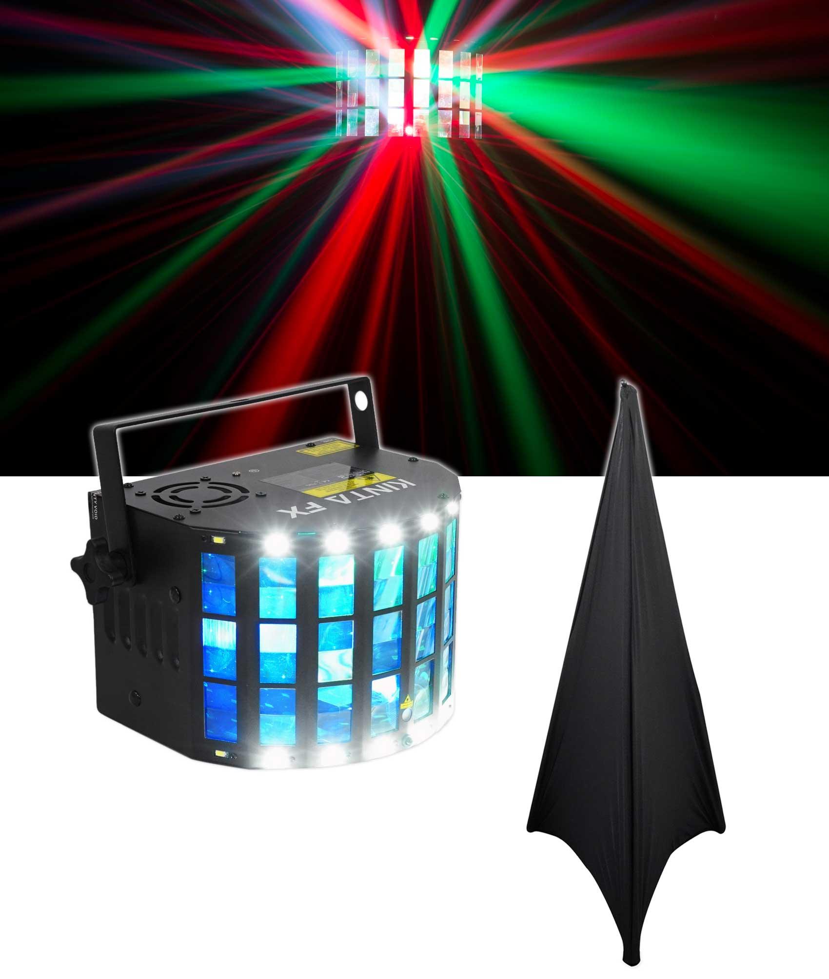 Chauvet DJ KINTA FX Multi-Effect DMX Light w  Laser,Strobe +Derby KINTAFX+Scrim by CHAUVET