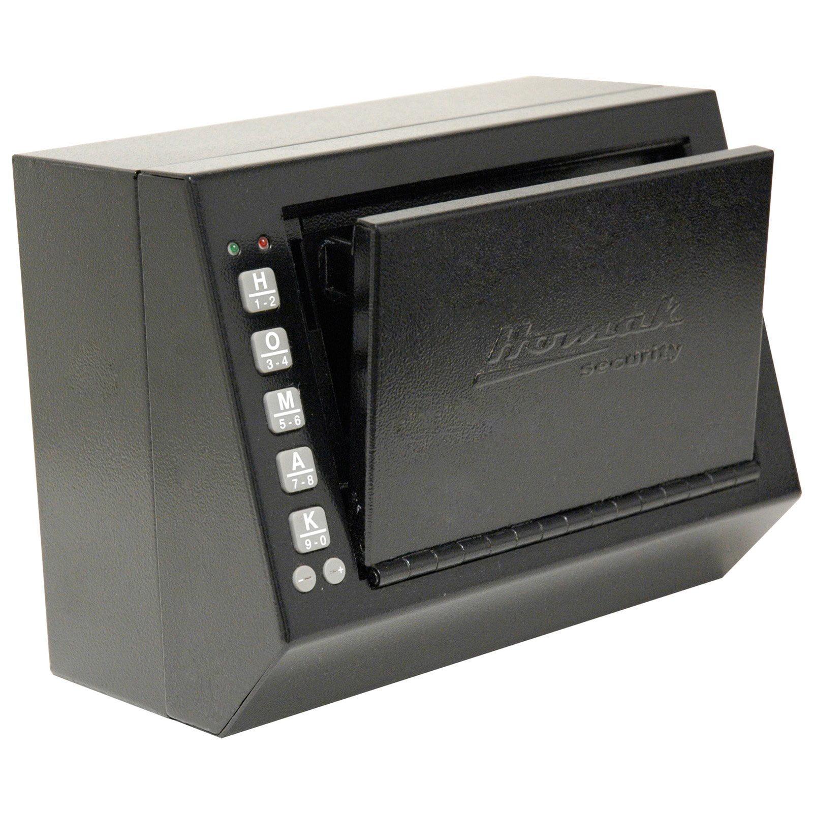 Homak Quick Access Electronic Pistol Box - Medium