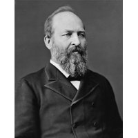 Laminated Poster James A. Garfield President Post Ohio Leader Us Poster Print 24 x 36