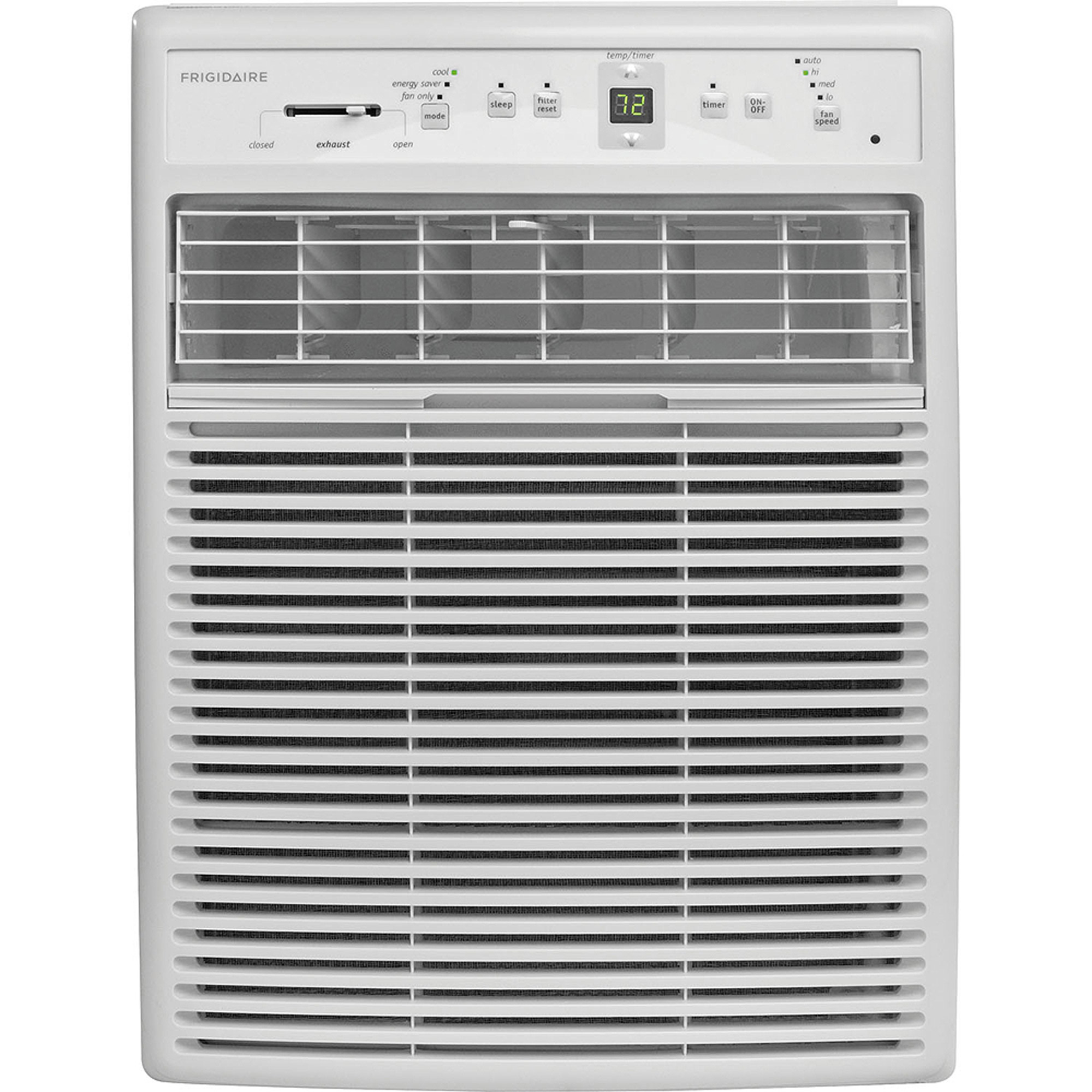 Frigidaire FFRS1022R1 Energy Efficient 10,000-BTU 115V Slider/Casement Room Air Conditioner with Full-Function Remote Control