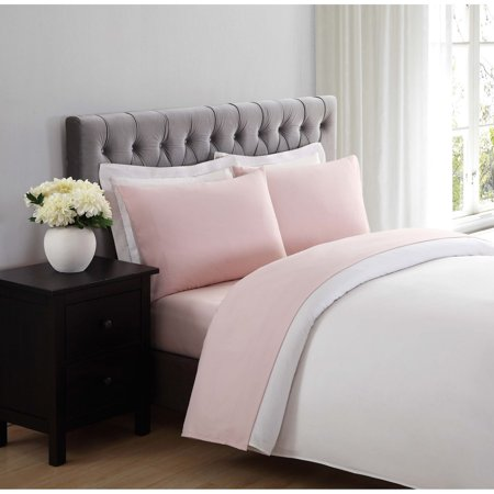 - Truly Soft Everyday Blush Twin Sheet Set