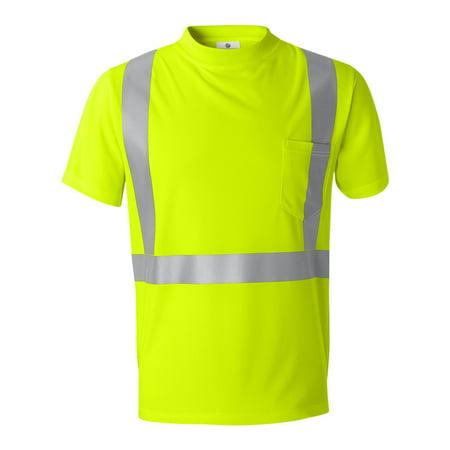 ML Kishigo - High Performance Microfiber T-Shirt - 9110-9111 - IWPF Microfiber Underwire T-shirt