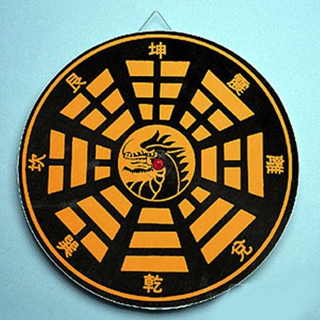 Dragon Target Chinese throwing  Star Board