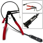 ABN Flexible Wire Long Reach Hose Clamp Pliers For Fuel Oil Water Hose Auto Tool