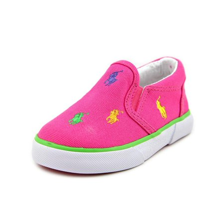 - Polo Ralph Lauren Bal Harbour Repeat   Round Toe Canvas  Sneakers