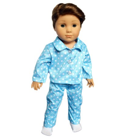 My Brttany's Star Pajamas for American Girl Boy Dolls, My Life as Dolls, 18 Inch Doll Clothes for American Girl Dolls, Fits American Girl Dolls,Doll and socks are not included ()
