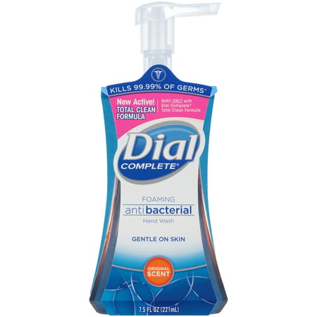 Dial Complete Antibacterial Foaming Hand Wash, Original, 7.5 (Complete Foaming)