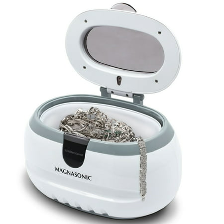 Professional Ultrasonic Polishing Jewelry Cleaner Machine for Eyeglasses, Watches, Rings, Coins, Dentures