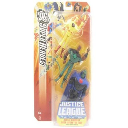 Justice League DC Super Heroes: Martian Manhunter, Green Lantern & The - Green Superhero