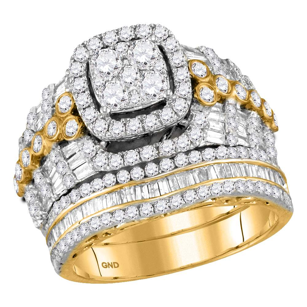2 1 2CTW-DIA CINDERELLA RING by Jewels By Lux