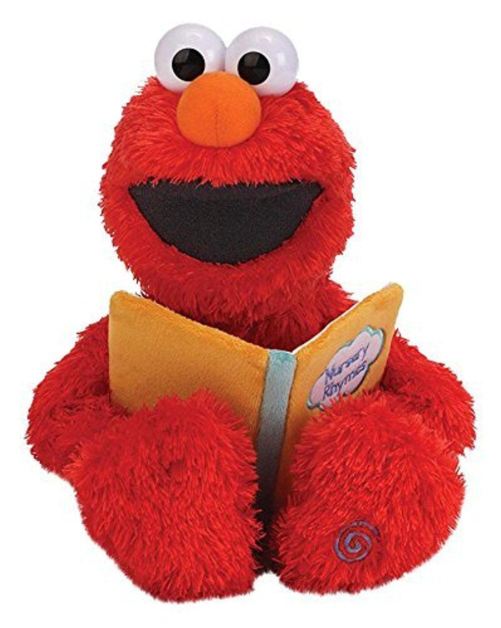 "Sesame Street Nursery Rhyme Elmo 15"" Plush by Gund"
